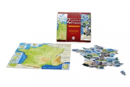 Puzzles cartes de France
