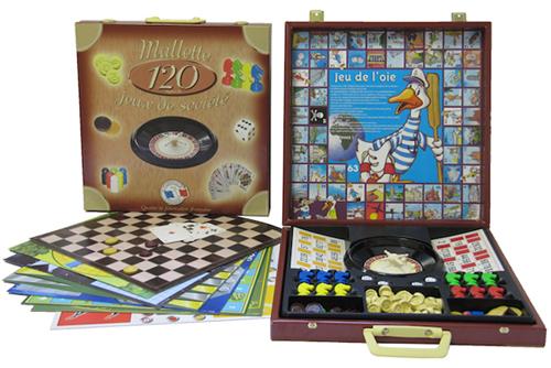 Mallette 120 jeux