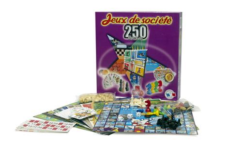 Coffret de 250 jeux