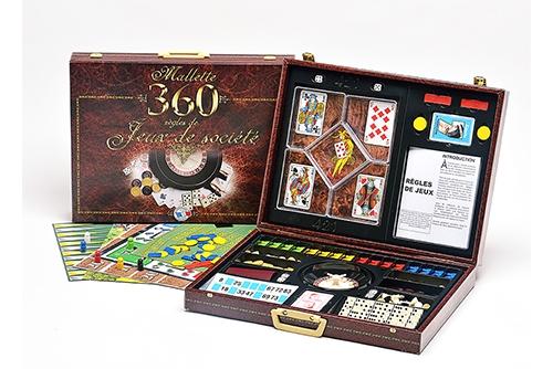Mallette 360 jeux