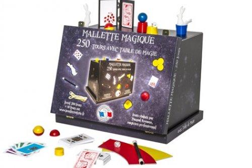 Mallette et sa table de magie