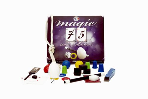 Coffret 75 tours de magie