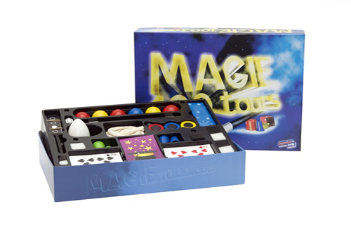 Coffret 100 tours de magie